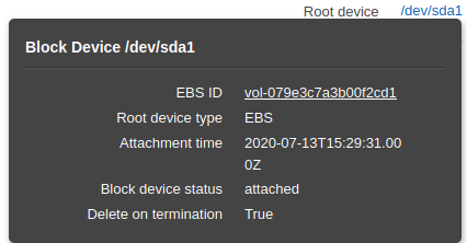 reduce aws ebs root volume size